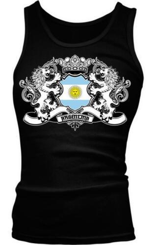 Argentina Heraldic Lions Argentine Pride Orgullo Bandera Boy Beater Tank Top