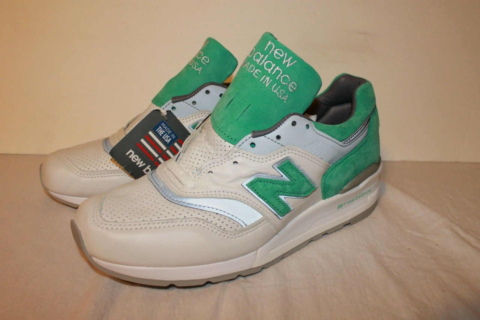 dca84b09446e84 Balance 997 Made The USA M997CMA White Mint Green Fieg Concepts Size 5 In  New ooprwn2454-Athletic Shoes