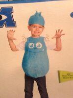 Disguise Disney Pixar Monster Inc. Sulley Blue Costume 3t 4t Halloween