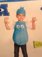 Disguise Disney Pixar Monster Inc. Sulley Blue Costume 3t 4t Halloween