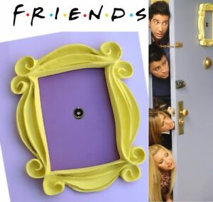 Friends Tv Show Yellow Peephole Frame Monicas Door Friend
