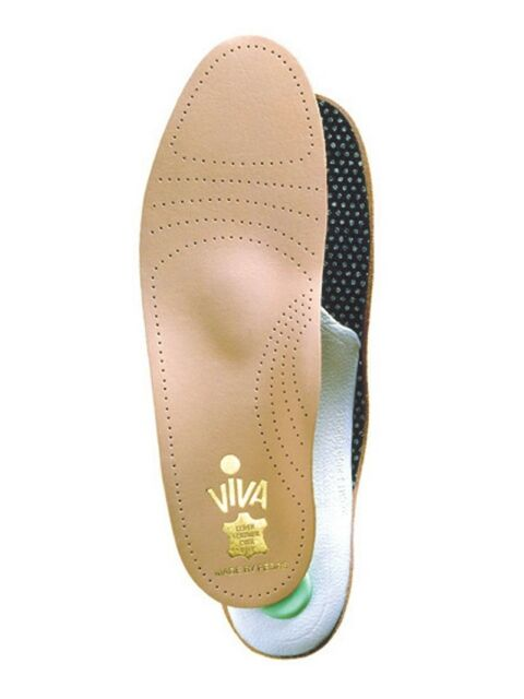 Pedag VIVA Leather Total Arch Support w/Met Pad Insoles