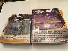 MARVEL Guardians of the Galaxy triple pack groot rocket raccoon & sakaaran
