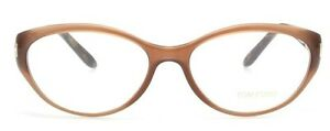 Neuf-TOM-FORD-translucide-couleur-chair-beige-monture-lunettes-tf5244-5244-Femme