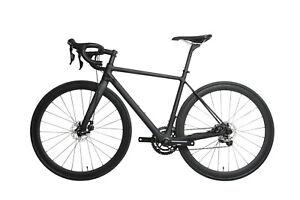 54-AERO-Carbon-Frame-Road-Bike-700C-Alloy-Wheel-Clincher-Disc-Brake-UD-Matt
