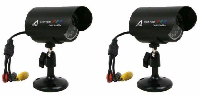 Astak CM-818w Wired IR 2x Camera's & 2x Power Supply