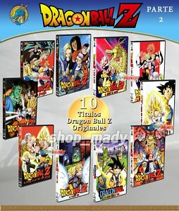 Paq 10 Movies De Dragon Ball Z Dvd En Español Latino Region 4 Parte 2 7506036091560 Ebay