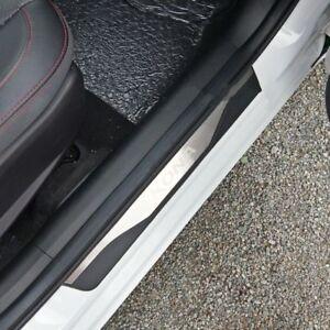 kona battitacco  4 porte Battitacco sotto porta adesivo doppio acciaio+ABS per ...