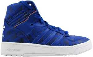 Adidas-Rivalry-Hi-Blue-Blue-White-New-York-Knicks-D65196-Men-039-s-SZ-11