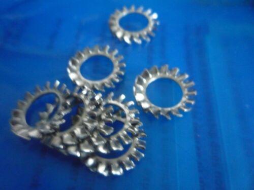 Confezioni da M10 Ventilatore esterno A2 ACCIAIO INOX Disc 10mm SHAKEPROOF RONDELLE
