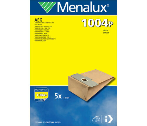 Singer Menalux 1004 P Staubsaugerbeutel für AEG Iskra