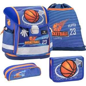 Belmil-Schulranzen-Set-Classy-4-tlg-Erstklaessler-Einschulung-Jungs-Basketball