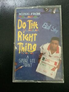 DO THE RIGHT THING - Soundtrack Cassette Tape - Spike Lee - 1989 MOTOWN