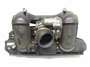 Intake-Manifold-Engine-07-13-BMW-328i-N52-3-0-DUAL-DISA-VALVES-amp-THROTTLEBODY
