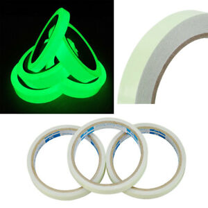 1X 3m Luminous Tape Self-adhesive Glow In The Dark Safety Stage Home Decor GL597