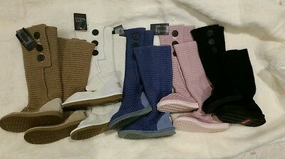 Knit cardigan Ugg boots with box