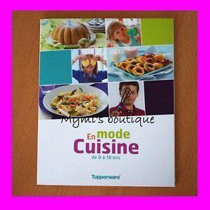 Details Sur Livre De Recettes En Mode Cuisine Tupperware 0 18 Ans Pour Enfants Ados