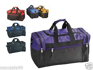 20 Duffle Bag Bags Travel Size Sports Gym Blank 17