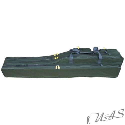 Delta Fishing Rutentasche 2 Fach 125 CM Futteral Rutenfutteral Angeltasche Kva