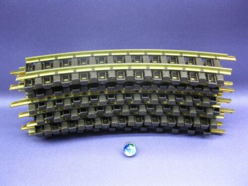 12 LGB Schienen 1100 gebogen kurve Vollkreis R=600 mm Playmobil Eisenbahn #17