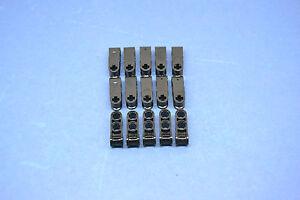 LEGO 15 x TECHNIQUE Axe PIN CONNEXION 3 fois Noir Black Technic 42003  </span>
