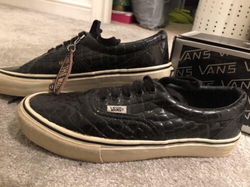 Vans Black Boxed Croc Raro Unisex Era Crocodile Us10 9 Mens Uk Vault Aqr6wBA