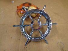 1955 Packard Patrician Clipper Hood Trunk Ships Wheel Emblem Original
