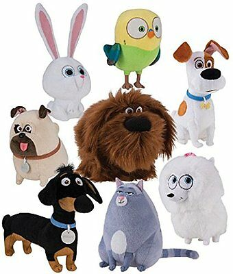The Secret Life Of Pets Movie Collectible Plush Buddy Choose Your Character Ebay