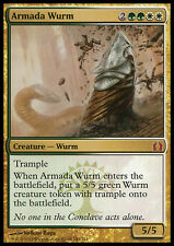 ARMADA WURM NM mtg Return to Ravnica Gold - Creature Wurm Mythic
