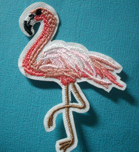 NEW FLAMINGO IRON ON Applique YOU CHOOSE DESIGN Flamingos Bird
