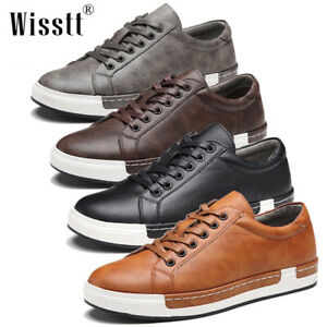 men's casual leather shoes business formal work shoes