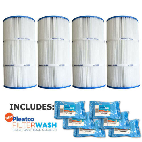Pleatco PA56SV-PAK4 Filter Cartridge Hayward SwimClear 2000 w// 6x Filter Washes