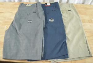 NWT-Men-039-s-Hang-Ten-Stretch-Walkshort-Walk-Shorts-Variety