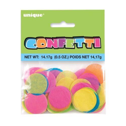 """1/"""" Bright Tissue Paper Confetti Multi-coloured"""