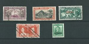 World-Stamps-NEW-ZEALAND-1937-1940-Pre-Decimal-selection-Lot-3146