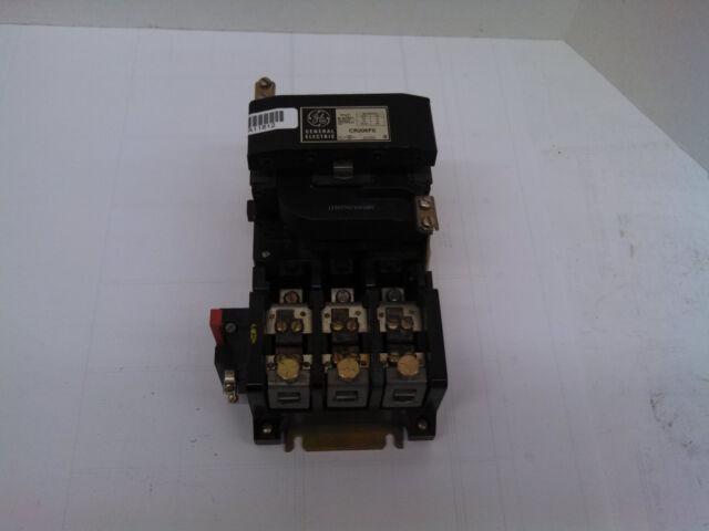Ge General Electric Cr206f0 Magnetic Motor Starter Nema 4 100 Hp 460 575 Vac