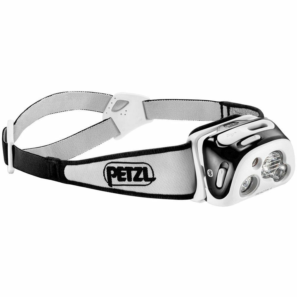 Petzl Reactik LED Proiettore IPX4 blutooth Smart  Nero max. 300 Luuomini