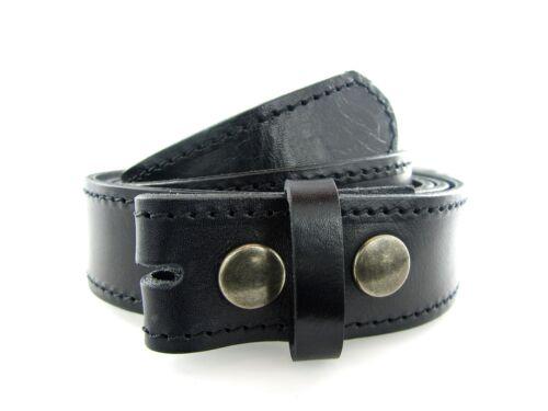 Vera Pelle Cintura Di Cambio Cintura Nero per 3,5 cm buckles cintura fibbie in pelle