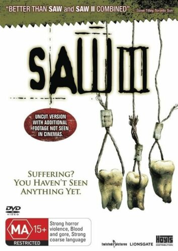 1 of 1 - Saw 03 (DVD, 2007) Brand New!!