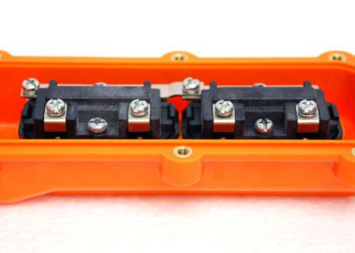 1pc Rainproof Hoist Pushbutton Switch THS-62 5A 250VAC Momentary non-Lock TEND