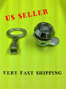 LOT OF 10 KEY CAM LOCK FOR CABINET BOX DRAWER MAILBOX CUPBOARD # 060.1.1.28.10