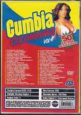 dvd CUMBIA COLOMBIANA V4 Gota Fria CARLOS VIVES hijo de tuta LISANDRO MESA porro