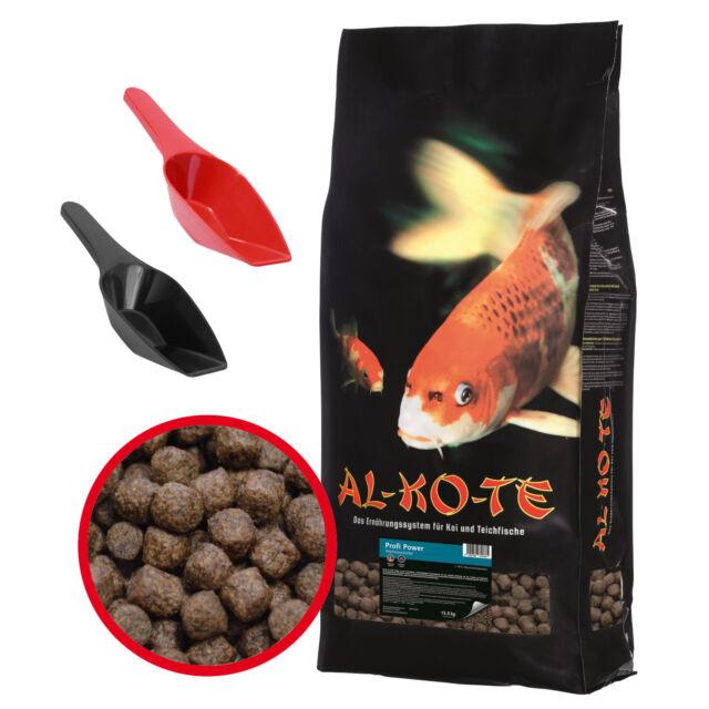 AL-KO-TE Profi Power 13,5 kg 3 mm 6 mm Koifutter Fischfutter Teichfisch Futter
