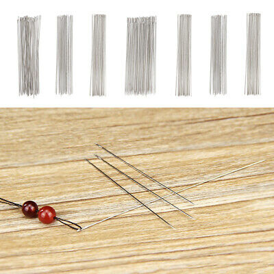 Beadsmith Seed Bead Spinner Curved Large Needles Spin and String Pack of 5