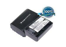 7.4 V Batteria per SONY HDR-PJ740VE, hdr-td20, HDR-XR150, HDR-TG3E, HDR-CX350V, DC