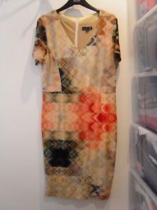 Ladies-Smashed-Lemon-Dress-Size-14-U