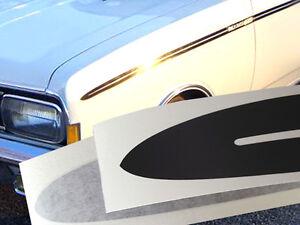Zierstreifen-Satz Opel Rekord C Sprint Cih 2-Türer