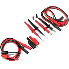 Multimeter Test Lead Kit Tl809 Two Pvc Lead Tester Supplies Accessories Tools