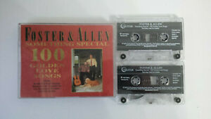 Foster & Allen Something Special - Double Cassette Album - Telstar - STAC 2846