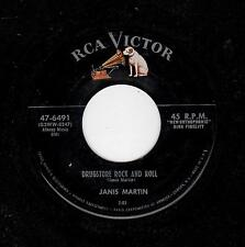 ROCKABILLY-JANIS MARTIN-RCA 6491-DRUGSTORE ROCK AND ROLL/WILL YOU,WILLYUM